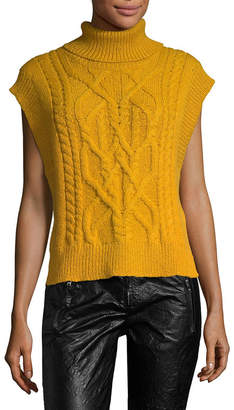 Isabel Marant Grant Irish Baby Alpaca Sweater