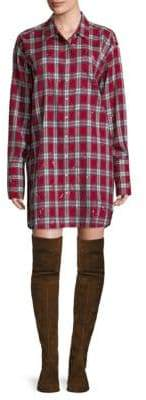 Rivington & Essex Plaid Shirt Dress
