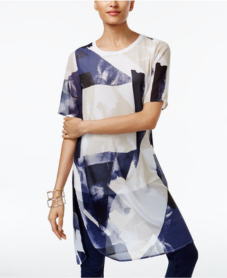 Alfani Illusion Tunic, Only at Macy's $79.50 thestylecure.com