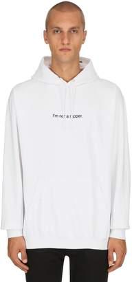 I'm Not A Rapper Cotton Sweatshirt