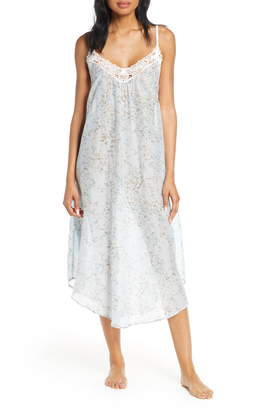 Papinelle Cherry Blossom Cotton & Silk Nightgown