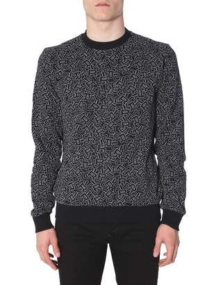 Christian Dior All-over print Crewneck Sweatshirt