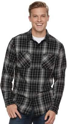 Men's Urban Pipeline Flannel Button-Down Shirt