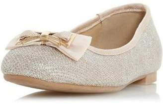 Dorothy Perkins Womens *Head Over Heels by Dune Gold Haze Flat Shoes