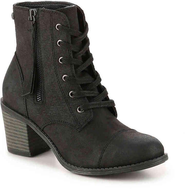 Women's Roxy Calico Combat Boot -Olive