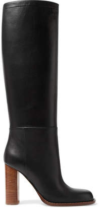 Marni Leather Knee Boots - Black