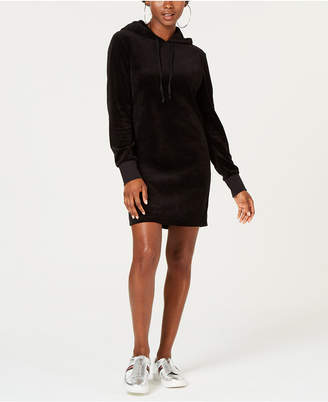 Juicy Couture Track Velour Hooded Dress