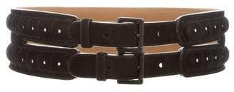 Alaia Suede Waist Belt