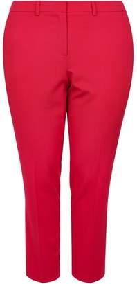 Dorothy Perkins Womens **Dp Curve Pink 'Fuschia' Elastane Ankle Grazer Trousers