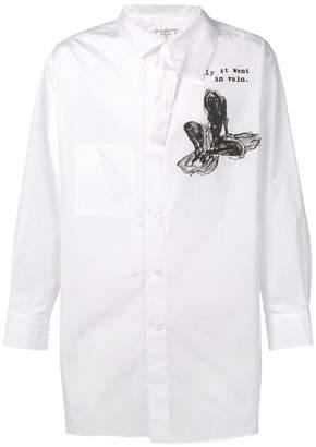 Yohji Yamamoto K-suddenly shirt