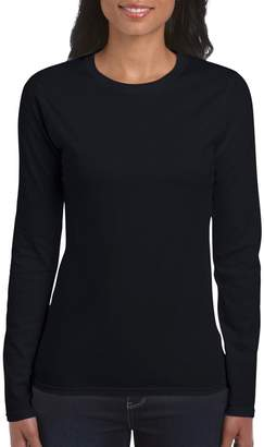 Gildan Ladies Soft Style Long Sleeve T-Shirt (M)