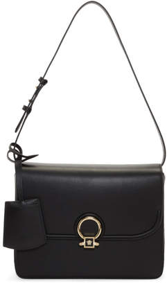 Versace two-tone logo shoulder bag - Black SBmRIxB