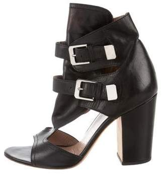 Laurence Dacade Leather Cutout Sandals