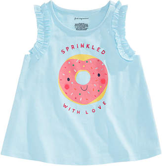 ca33317dd First Impressions Toddler Girls Donut Graphic Top