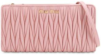 Miu Miu Quilted Leather Crossbody Bag