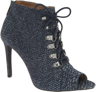 PeepToe G.I.L.I. Got It Love It G.I.L.I. Peep-Toe Lace-Up Booties