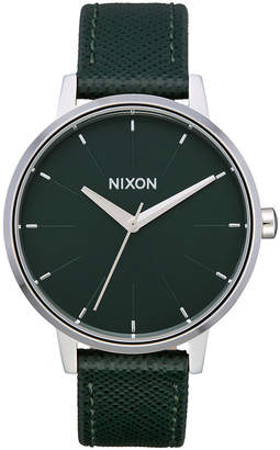 Nixon Women Kensington Leather Strap Watch 37mm