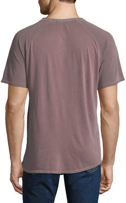 Threads For Thought Men's Contrast-Raglan Sleeve T-Shirt