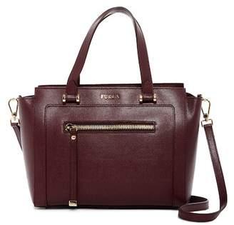 Furla Ginevra Medium Leather Satchel