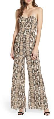 Leith Strapless Jumpsuit