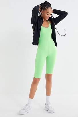 Urban Outfitters Nylon Sleeveless Scoop Neck Romper