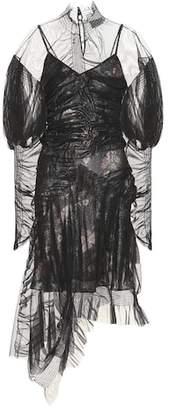 Ambrose tulle midi dress