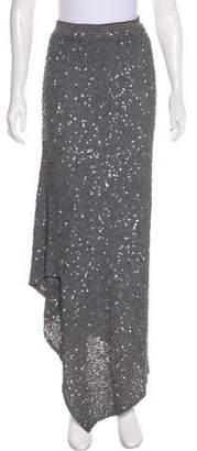 Peachoo+Krejberg Silk Sequined Skirt w/ Tags