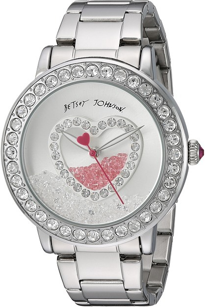 Betsey Johnson Betsey Johnson - BJ00158-06 - Shaky Heart Face Watches