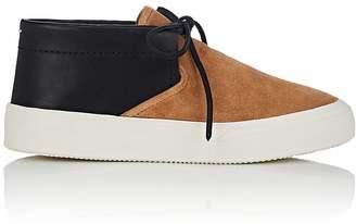 Maison Margiela Men's Suede & Leather Chukka Sneakers