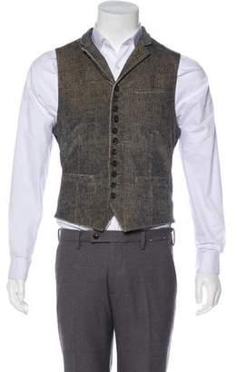 John Varvatos Notch-Lapel Suit Vest