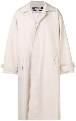 Jacquemus loose-fit trench coat