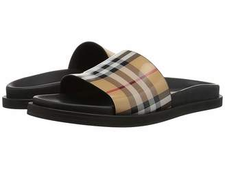 1bce831ae785f Burberry Leather Lined Women s Sandals - ShopStyle