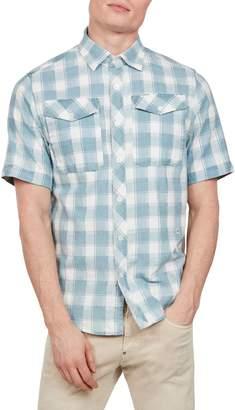 G Star Raw Bristum Straight-Fit Utility Button-Down Shirt