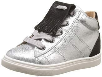 Palladium PLDM by Unisex Kids' Paline K Hi-Top Slippers Silver Size: 13UK Child