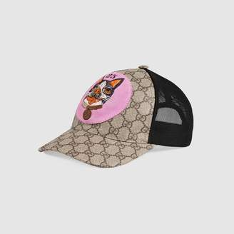 Gucci GG Supreme Bosco baseball hat