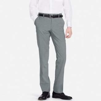 Uniqlo MEN Stretch Wool Slim Fit Flat Front Pants