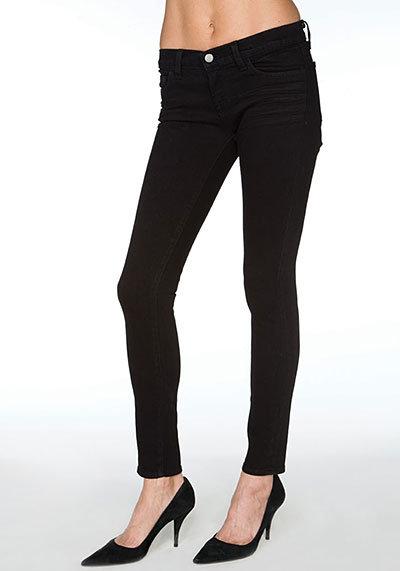 J Brand Skinny Low-Rise Jean in Jett Style 941