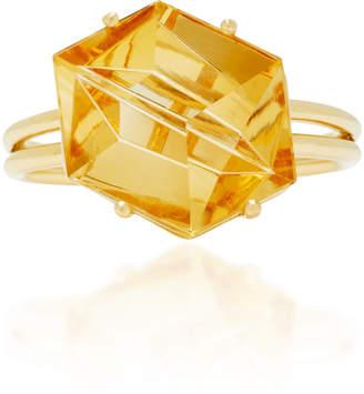 MISUI 18K Gold Citrine Ring