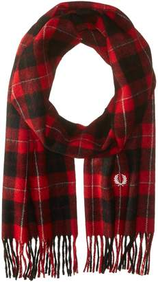 Fred Perry F Perry Men's Cunningham Tartan Scarf