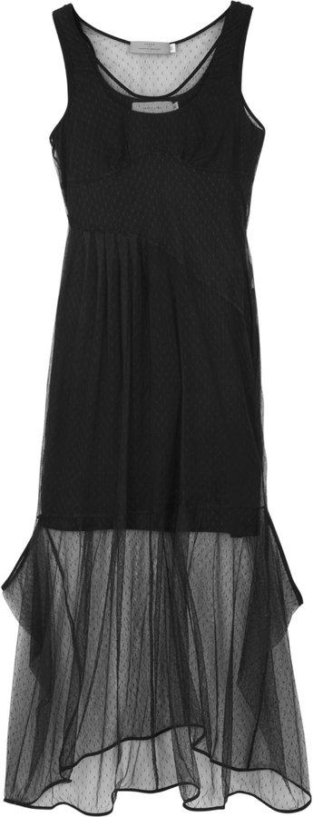 Preen Line Luisa Tulle Sheer Maxi Dress