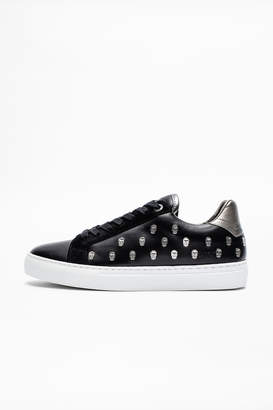 Zadig & Voltaire Zv1747 Skulls Ao Sneakers