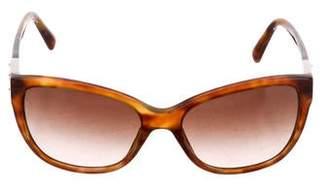 Dolce & Gabbana Cat-Eye Logo Sunglasses