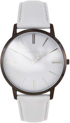 Vince Camuto Leather-band Watch