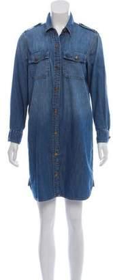Current/Elliott Denim Shirt Dress