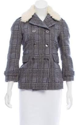 Gryphon Houndstooth Wool Jacket