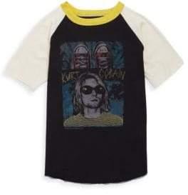 Rowdy Sprout Little Boy's& Boy's Kurt Cobain Tee