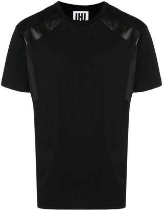 Les Hommes shoulder insert T-shirt