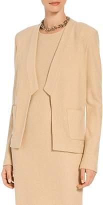 St. John Ana Boucle Knit A-Line Jacket