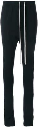 Rick Owens drop-crotch track pants