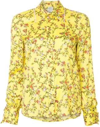 Baum und Pferdgarten floral print shirt